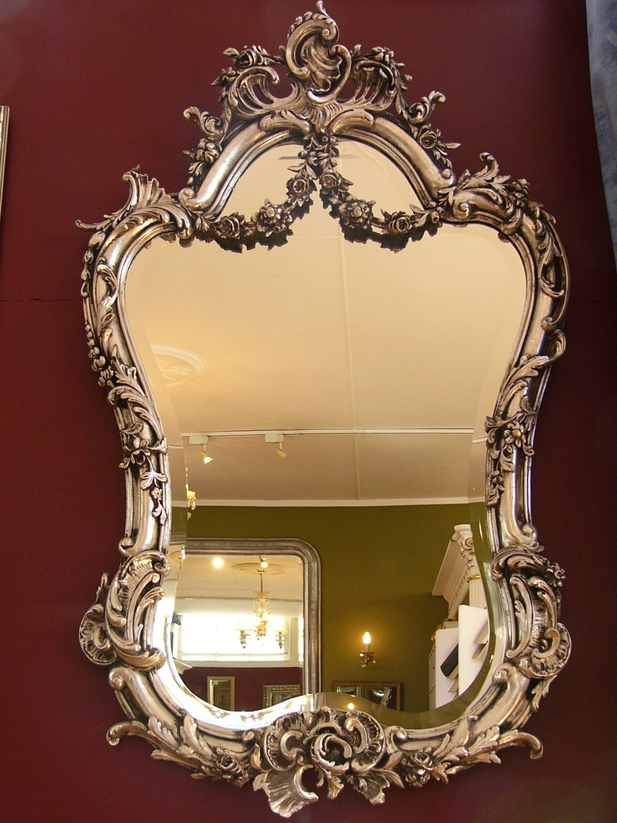 Rococo Mirror Throughout Rococo Mirrors (Image 14 of 15)