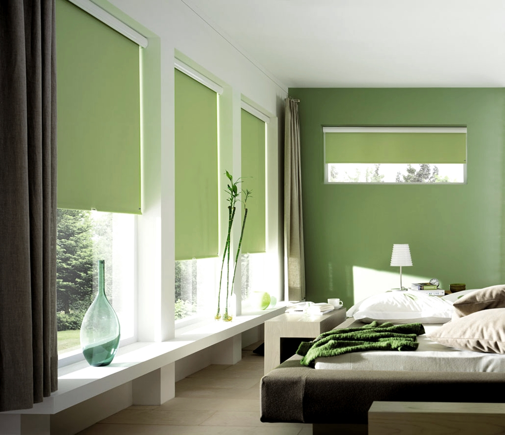 Roller Blinds Alpine Blinds For Green Roller Blinds (Image 7 of 15)