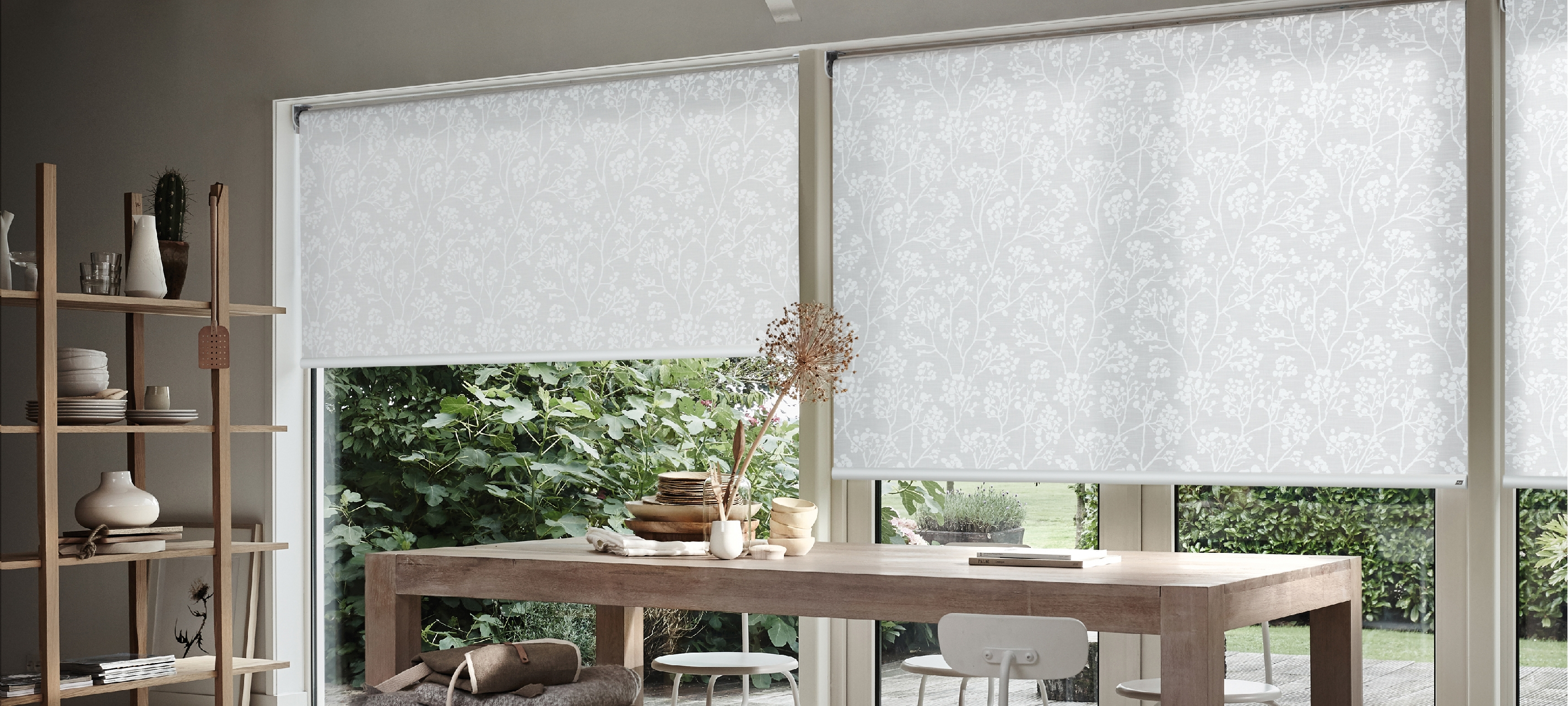 Roller Blinds Luxaflex In Fabric Roller Blinds (Image 10 of 15)