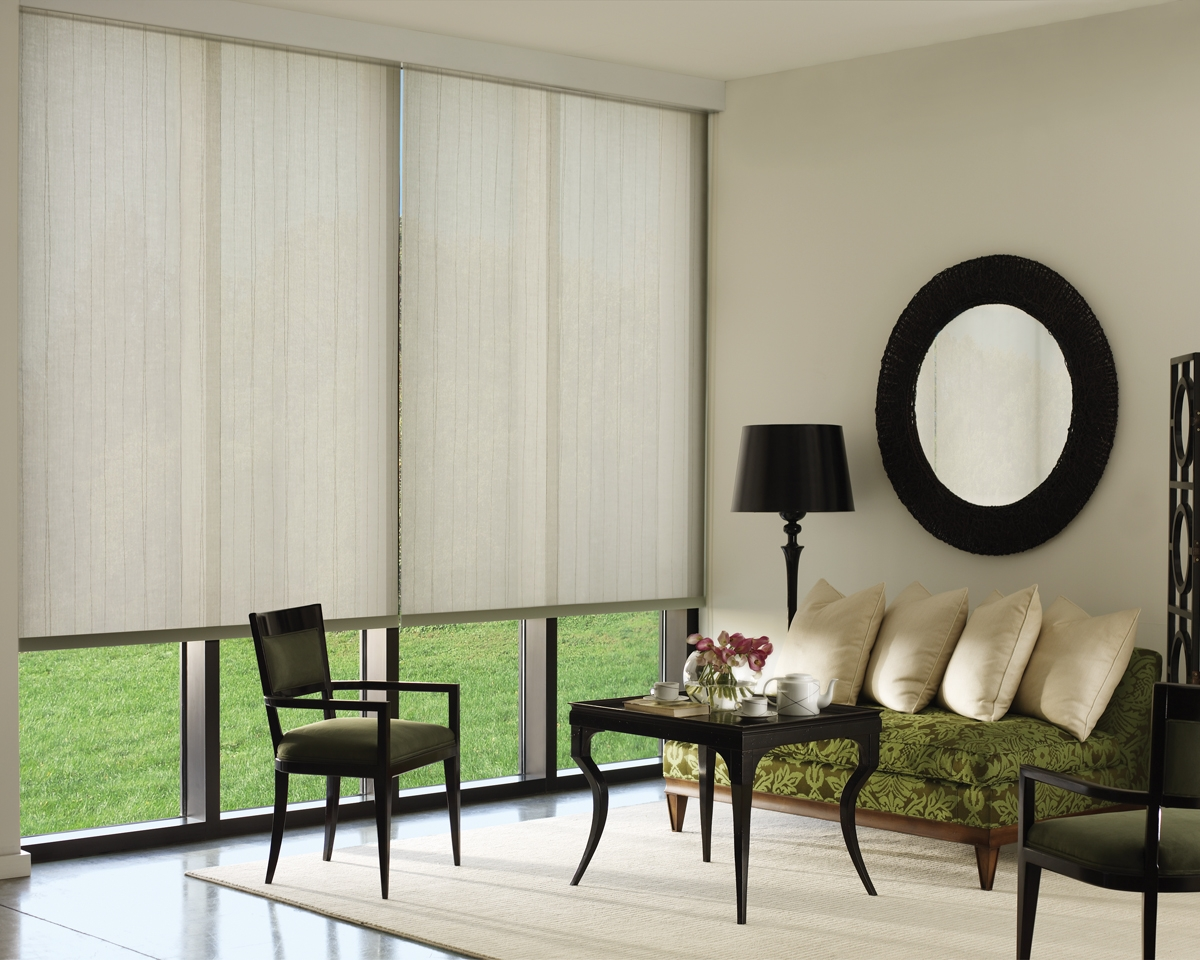 Roller Roman Atlanta Blind And Shade Pertaining To Custom Roman Blinds (Image 8 of 15)