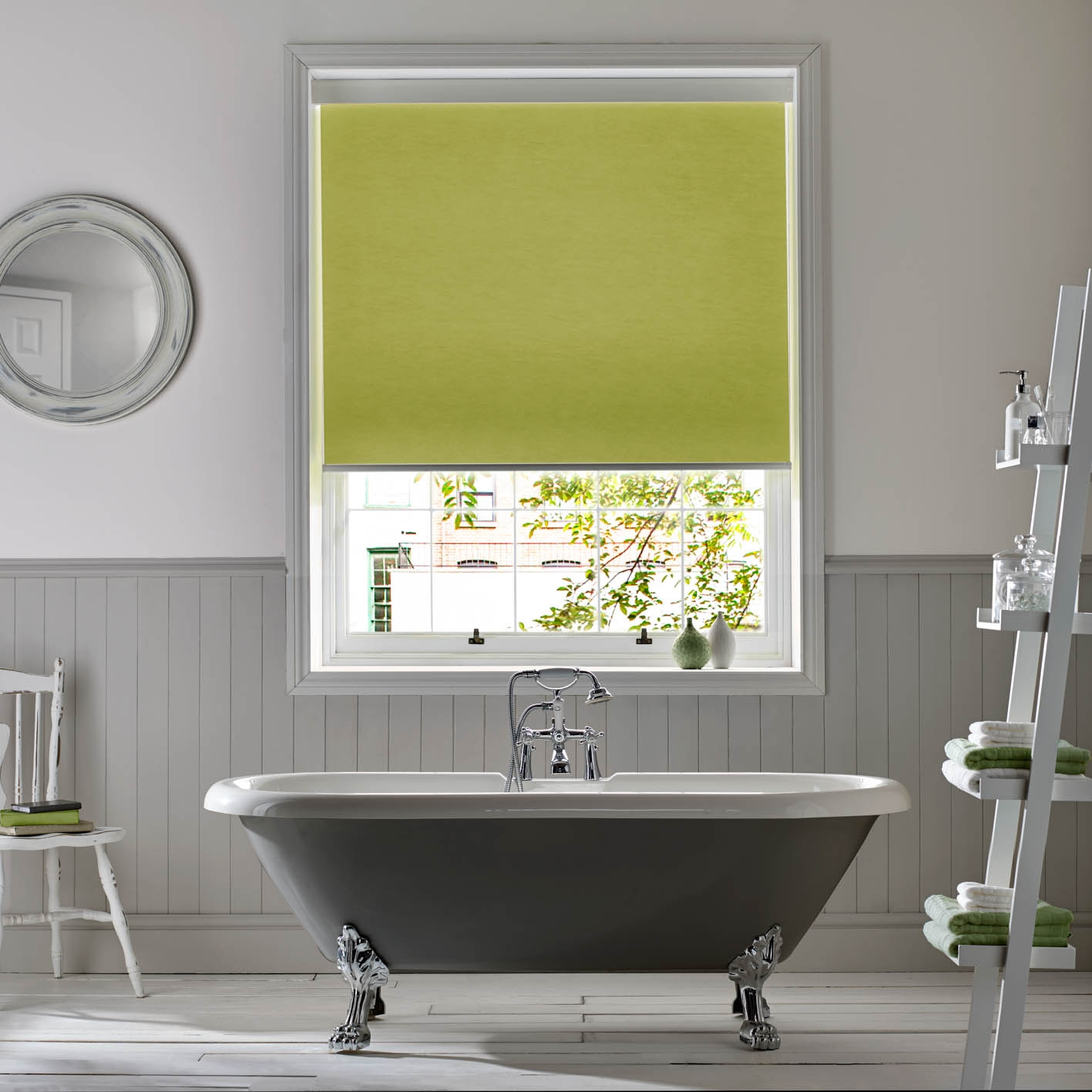 Roller Window Blinds With Ultra One Touch Control Appeal Home Pertaining To Bathroom Roman Blinds (Image 10 of 15)