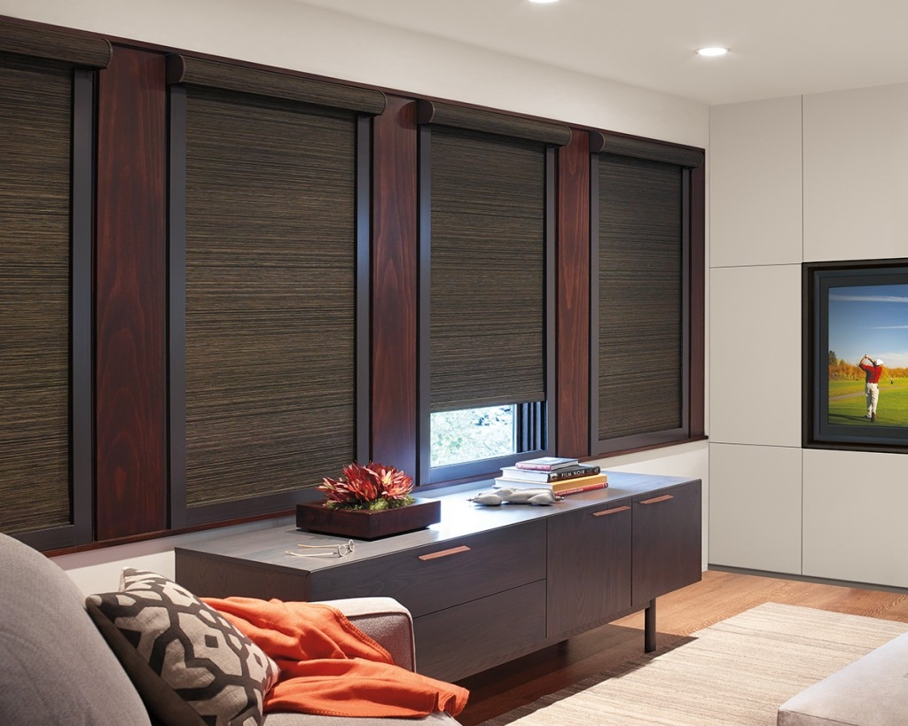Roman Blackout Blinds Block The Sunlight With Roller Blinds Made Intended For Roman Blackout Blinds (Image 12 of 15)