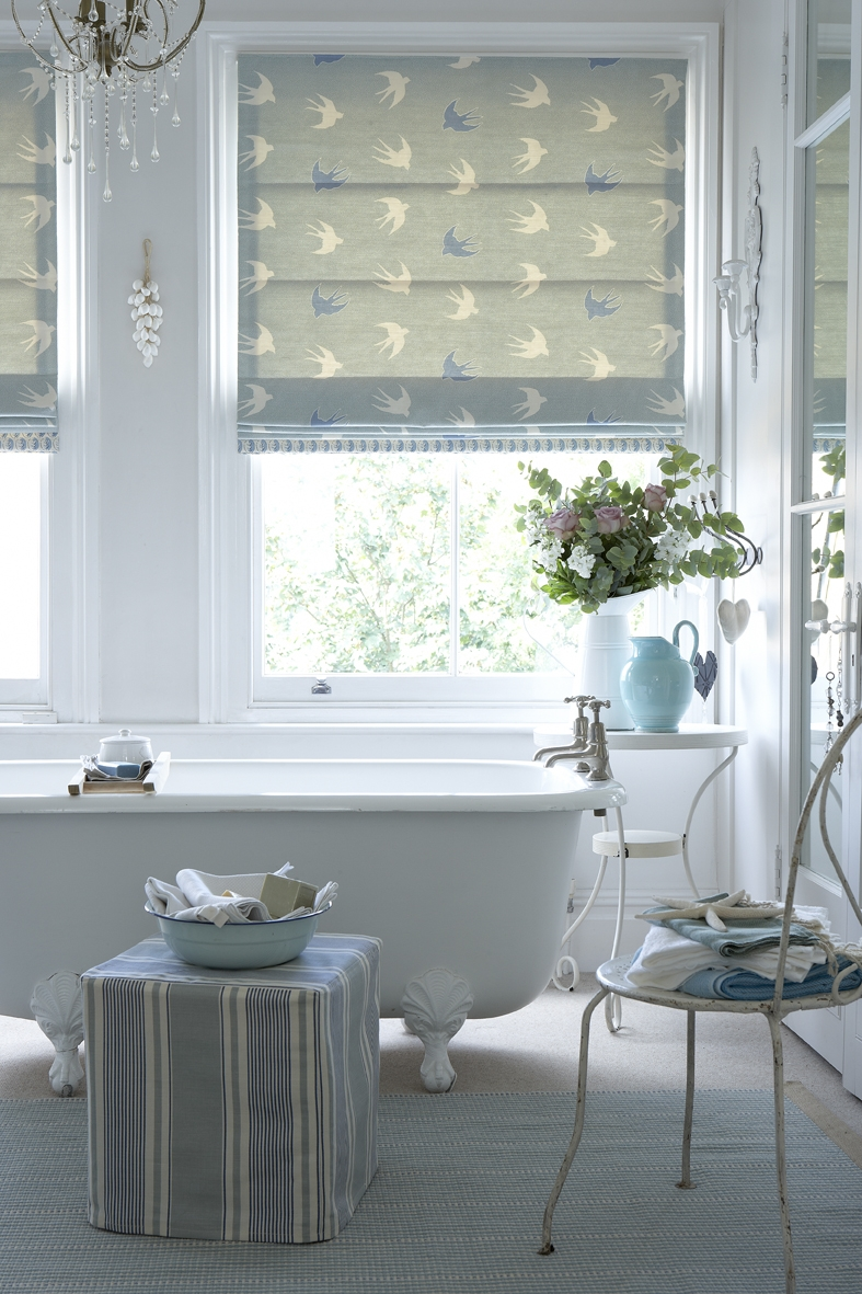 15 Ideas Of Bathroom Roman Blinds Curtain Ideas