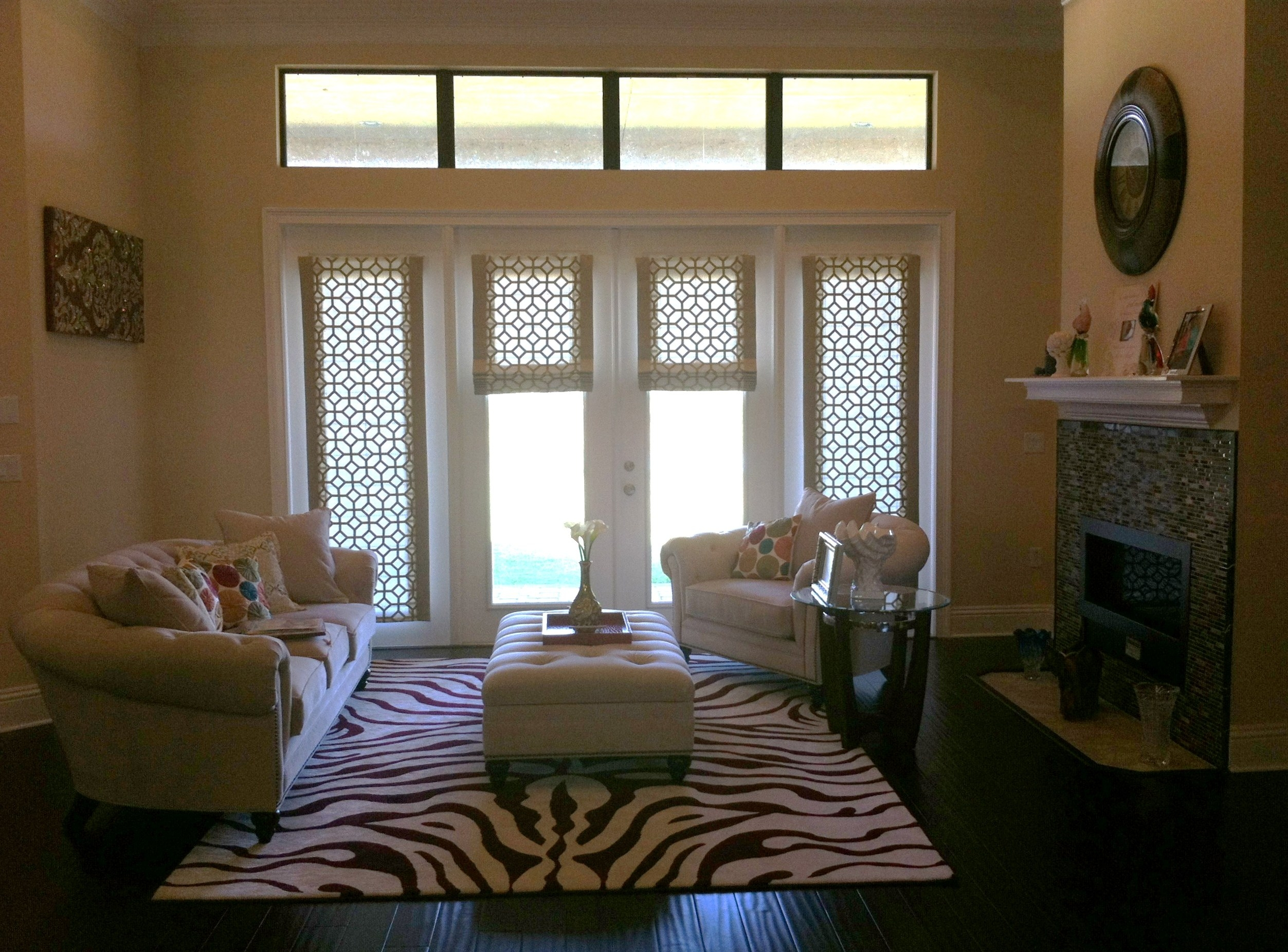 Roman Blinds At Home Depot Roller Shades Blinds U0026amp Window Inside Custom Roman Blinds (Image 9 of 15)