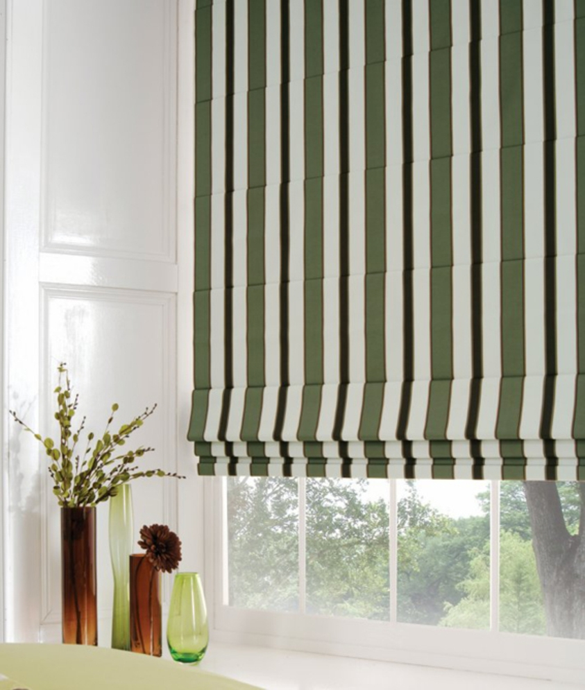 Roman Blinds Auckland North Shore In Long Roman Blinds (Image 12 of 15)