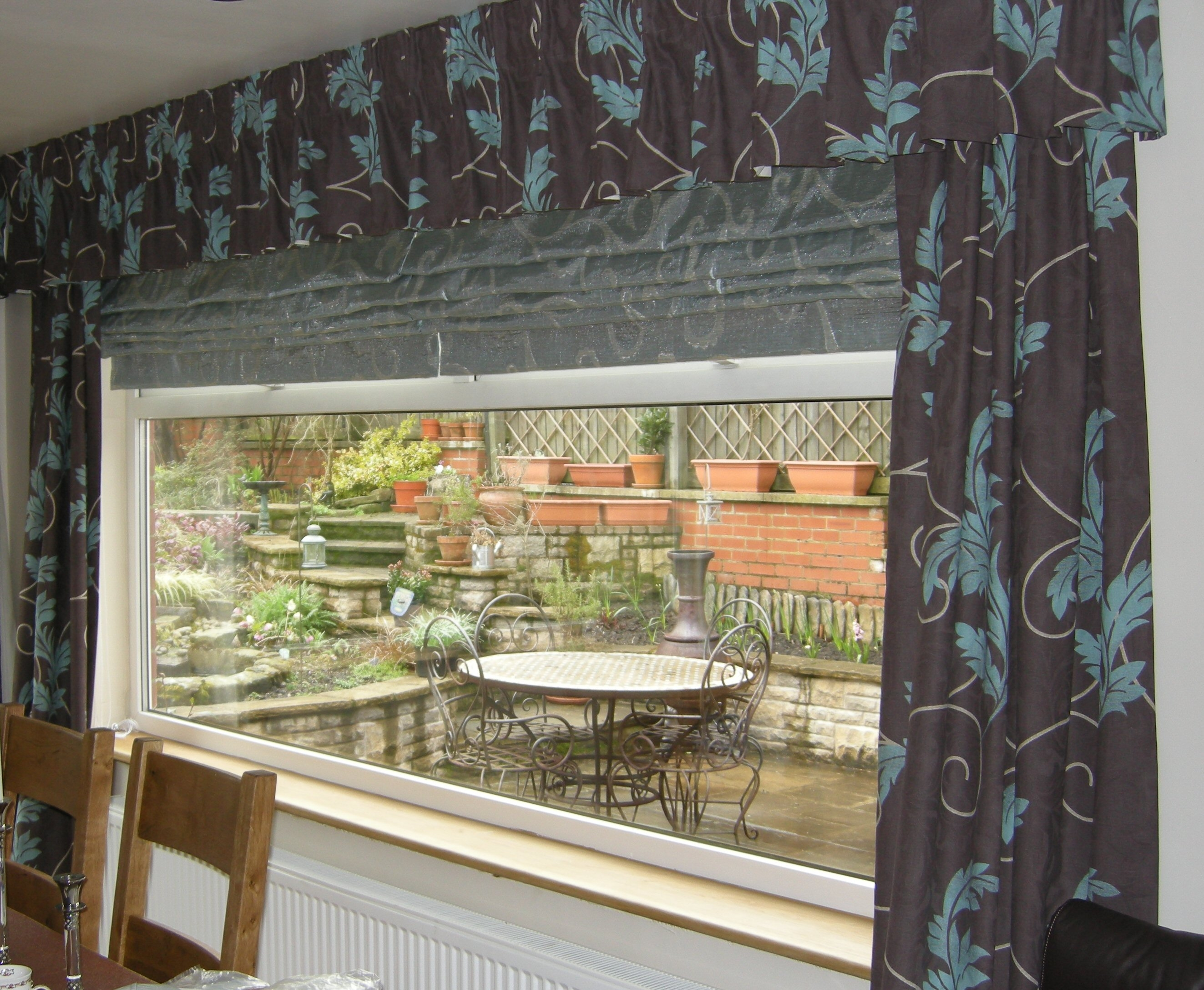 15 Photos Long Roman Blinds Curtain Ideas Window