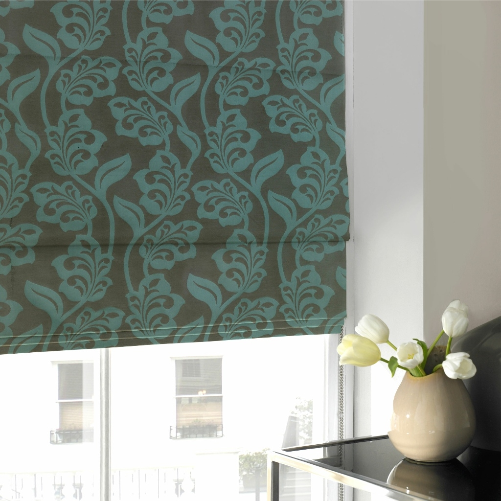 Roman Blinds Harmony Blinds Of Bolton And Chorley Pertaining To Roman Fabric Blinds (Image 8 of 15)
