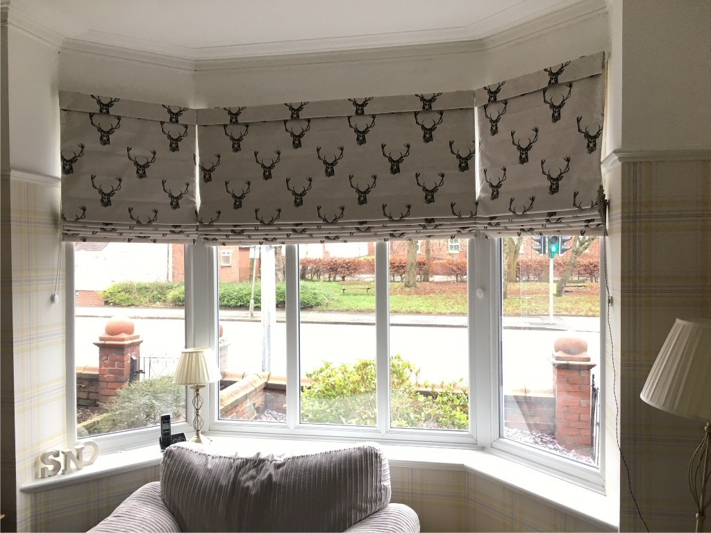 Roman Blinds Harmony Blinds Of Bolton And Chorley With Handmade Roman Blinds (Image 14 of 15)