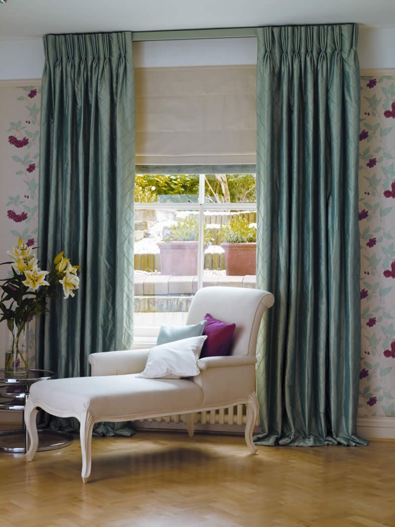 Roman Blinds Made To Measure Roman Blinds Bespoke Roman Blinds Uk Regarding Silk Roman Blinds (Image 13 of 15)