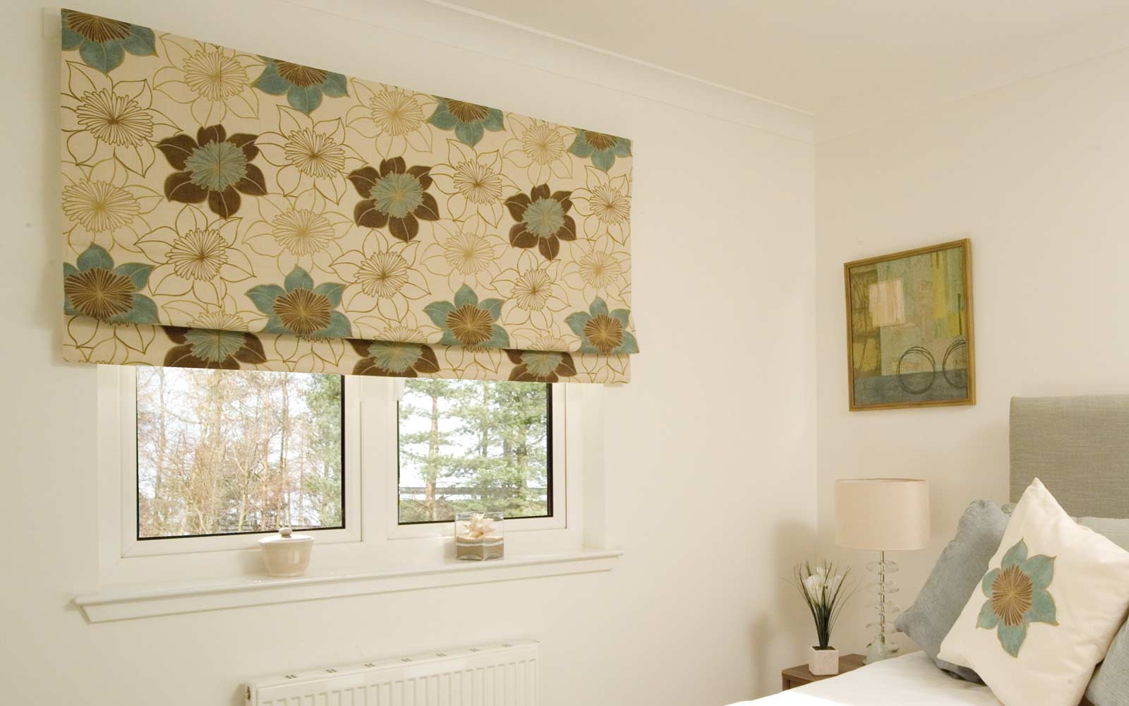 Roman Blinds Surrey Blinds Shutters Regarding Plain Roller Blinds (Image 15 of 15)