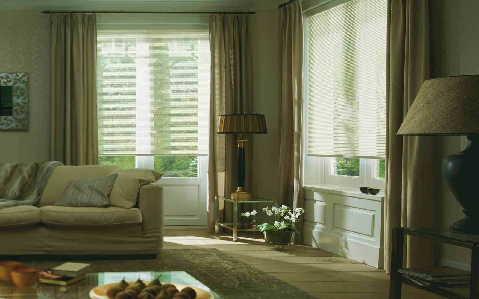 Roman Blinds Surrey Blinds Shutters With Voile Roman Blinds (Image 10 of 15)