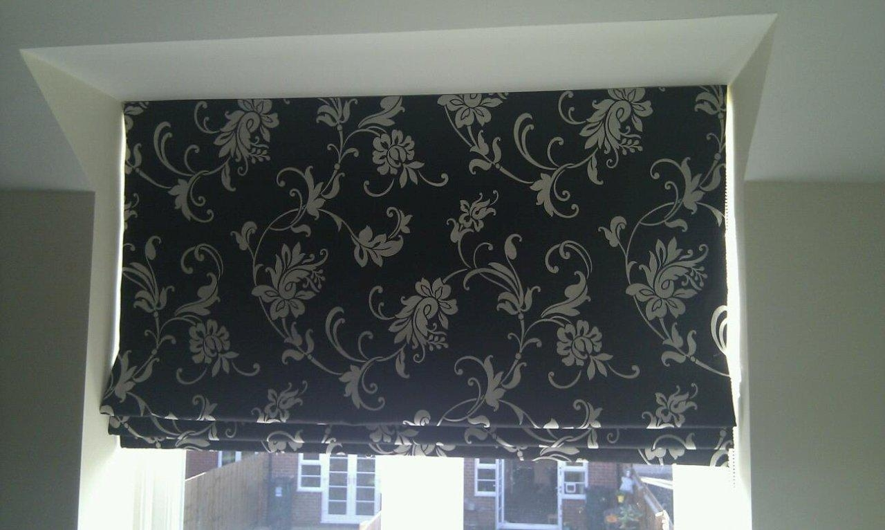Roman Emperor Blinds Quality Made To Measure Blindsemperor With Regard To Black Roman Blinds (Image 14 of 15)