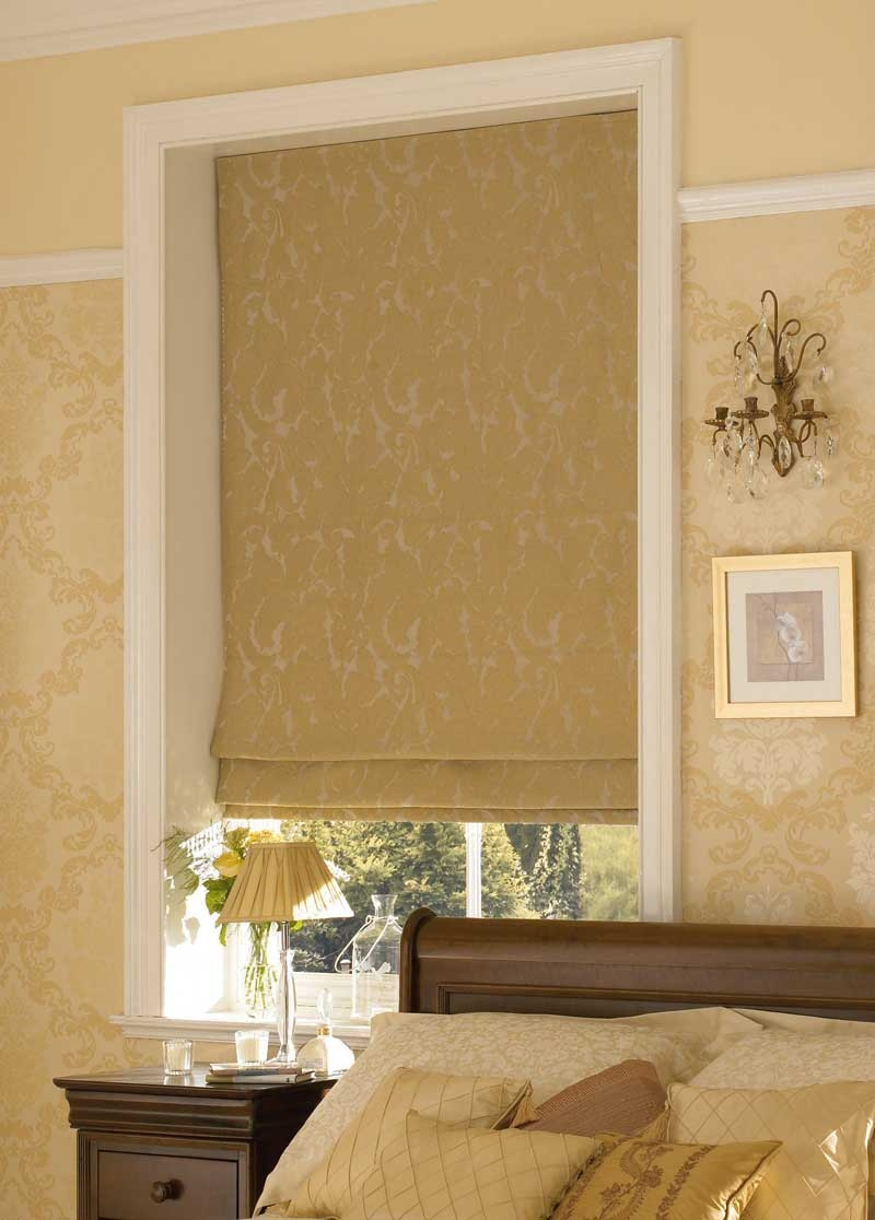 Roman Harmony Blinds Intended For Gold Roman Blinds (Image 13 of 15)