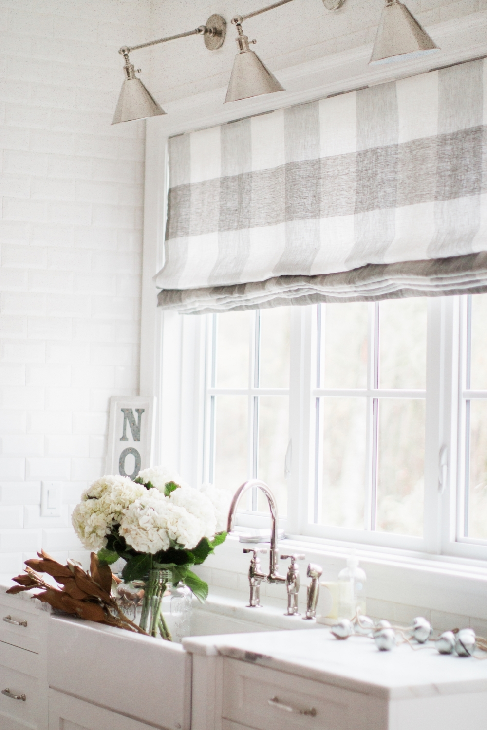 Roman Shades Buy Online Monika Hibbs Key Largo Check For Plaid Roman Blinds (Image 12 of 15)