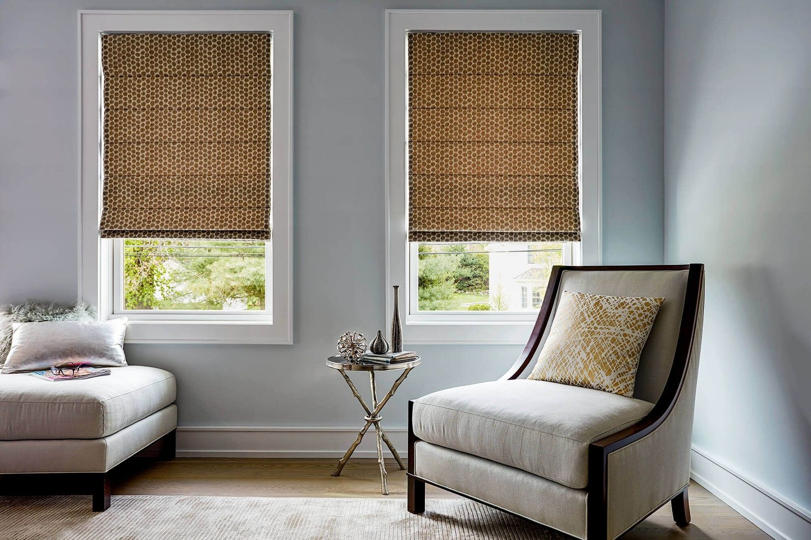 Roman Shades Custom Made Fabric Shades Blinds To Go Throughout Roman Fabric Blinds (Image 10 of 15)