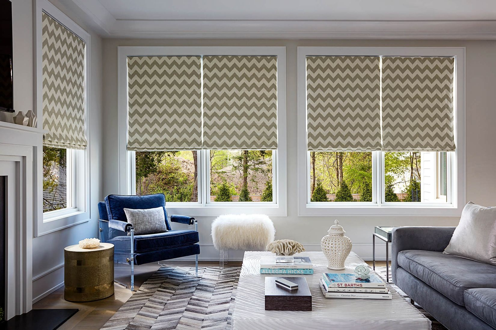 Roman Shades Custom Made Fabric Shades Blinds To Go Within Roman Fabric Blinds (Image 11 of 15)