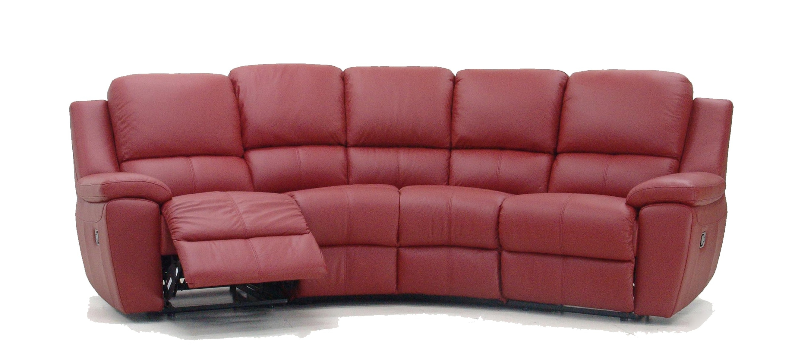 Rome Curved Corner Recliner Sofa Pertaining To Curved Recliner Sofa (Image 9 of 15)