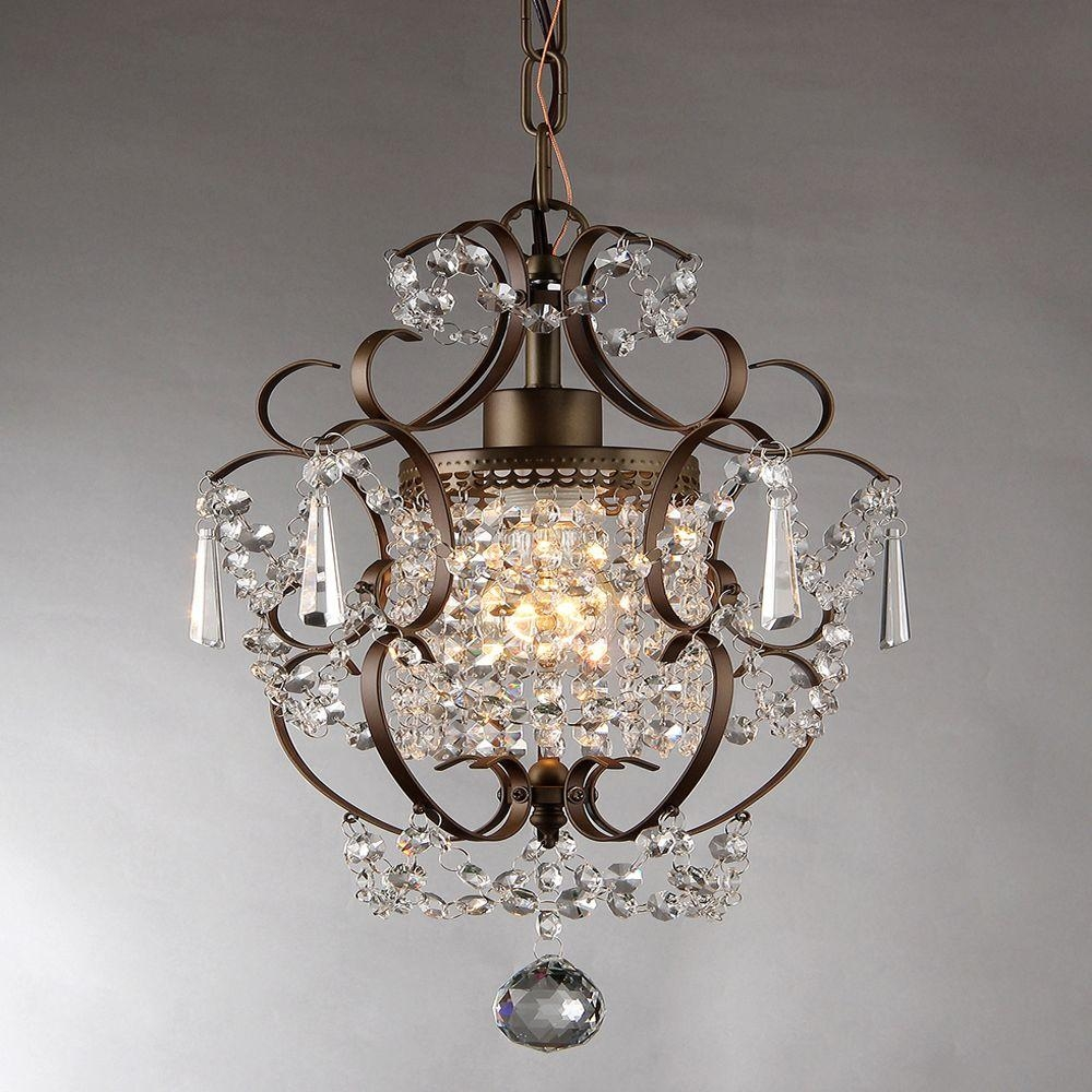 Rosalie 11 In Antique Bronze Indoor Crystal Chandelier Rl4025br For Bronze And Crystal Chandeliers (View 9 of 15)