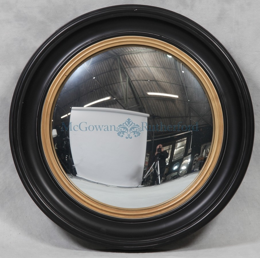Round Convex Mirror Inovodecor Within Convex Porthole Mirror (Image 10 of 15)
