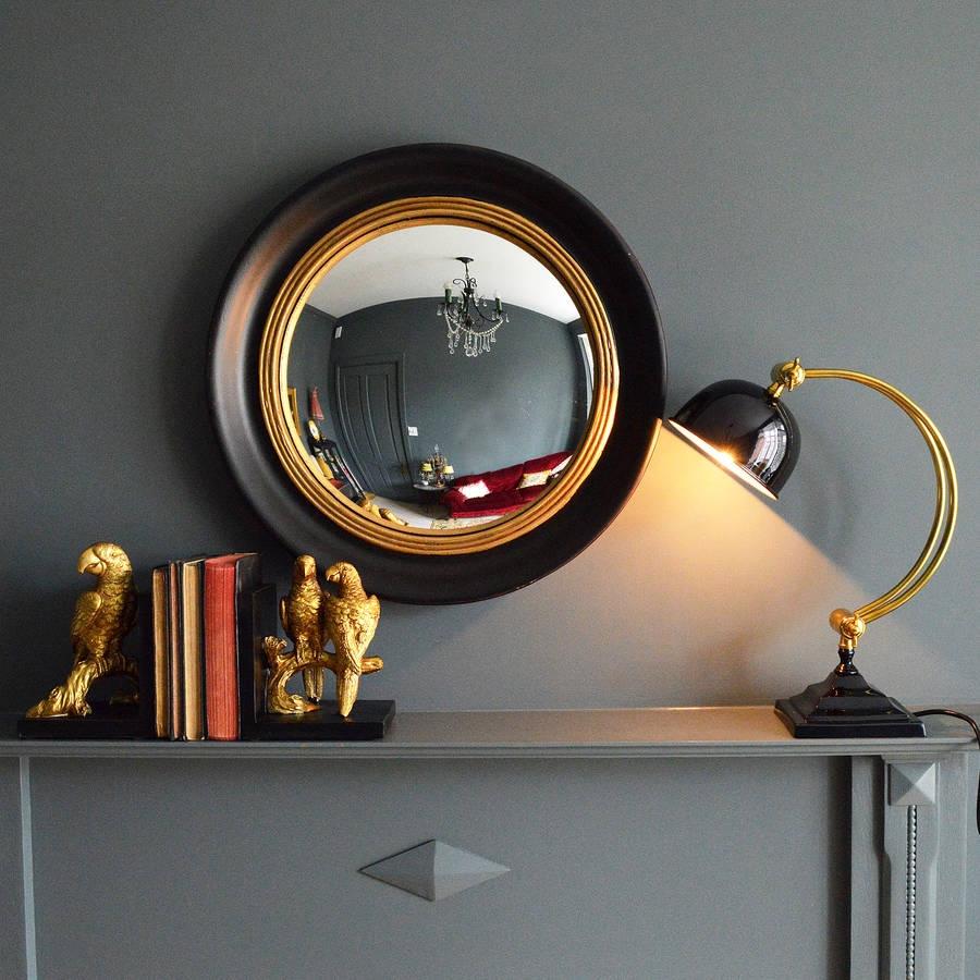 Round Convex Porthole Mirror Specchio Fatto Con Obl Prodotti In Convex Porthole Mirror (Image 11 of 15)