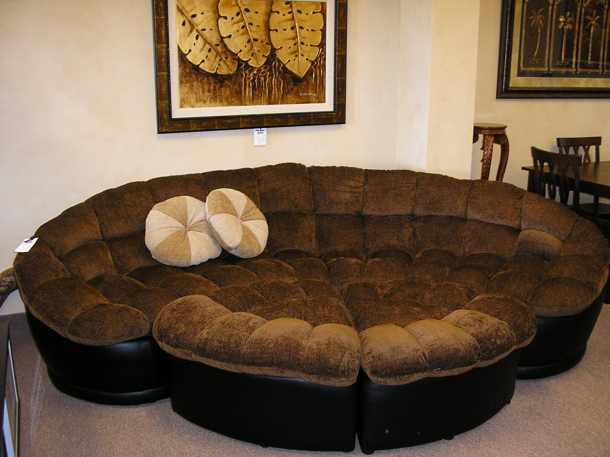Round Couch Regarding Circular Sectional Sofa (Image 11 of 15)