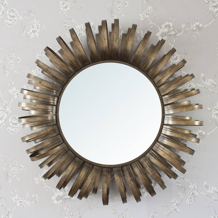 Round Framed Mirror Decorative Round Framed Mirror Large With Large Round Metal Mirror (View 4 of 15)