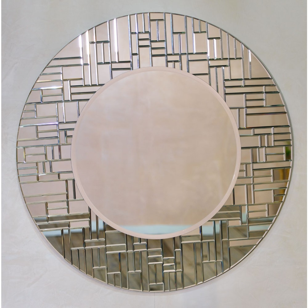 Round Mirrors Regarding Contemporary Round Mirrors (Image 11 of 15)