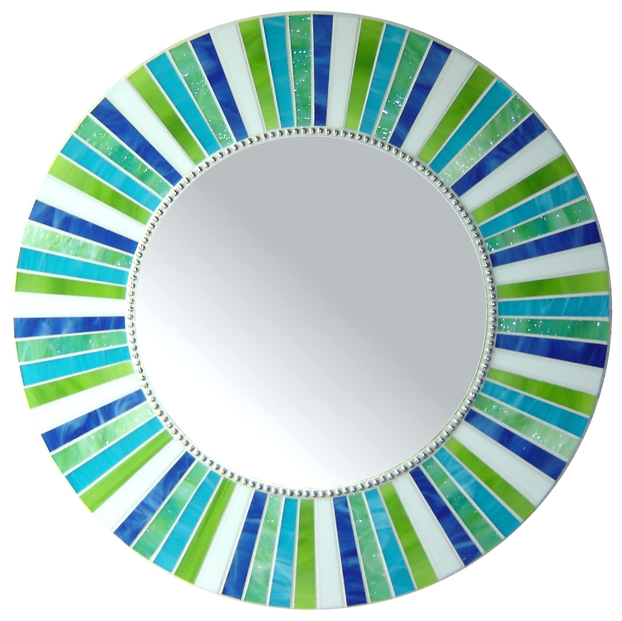 Round Mosaic Mirrors Uk Mirror Shopwiz Intended For Mosaic Mirrors For Sale (Image 14 of 15)