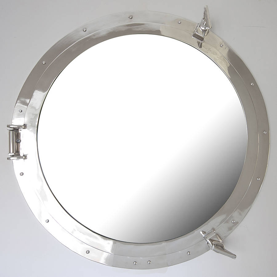 Round Porthole Mirror Decorative Mirrors Online Intended For Porthole Style Mirror (Image 13 of 15)