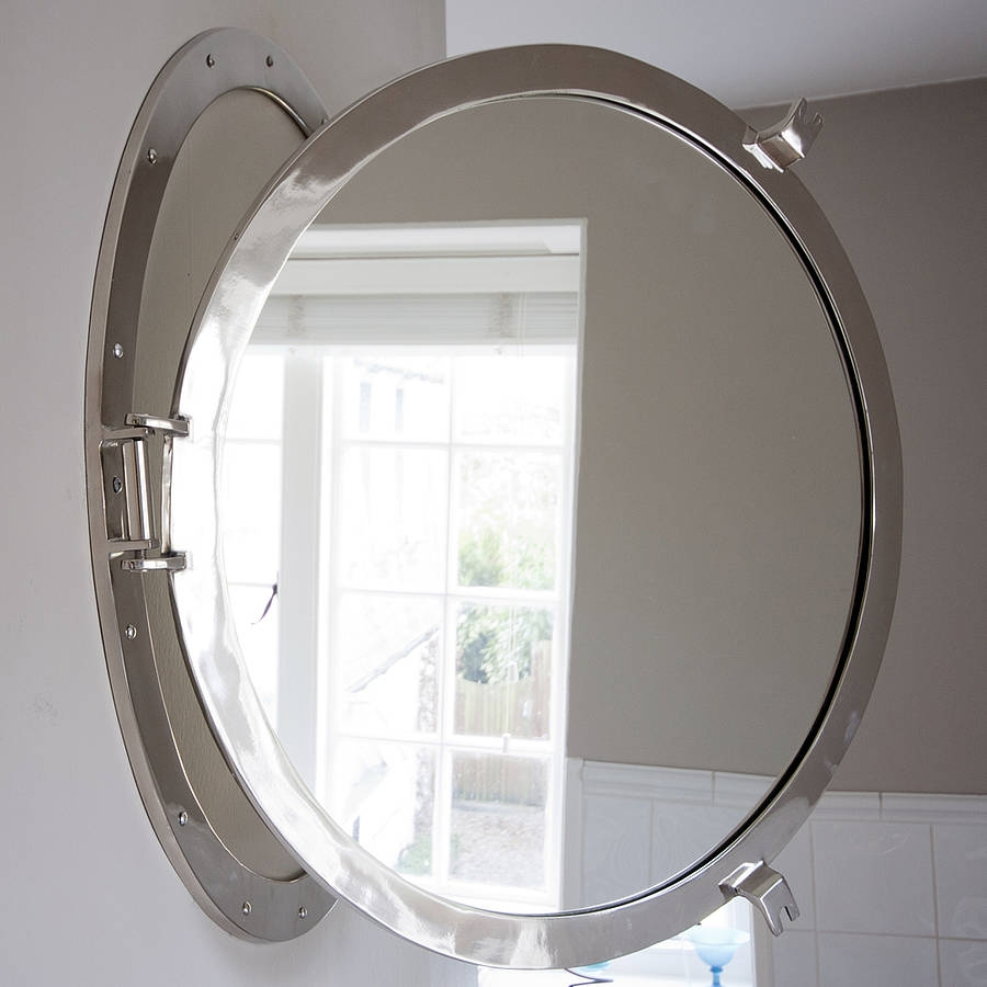 Round Porthole Mirror Decorative Mirrors Online With Porthole Mirrors (Image 14 of 15)