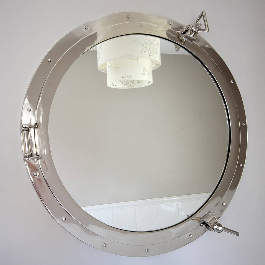 Round Porthole Mirror Decorative Mirrors Online Within Porthole Mirrors (Image 15 of 15)