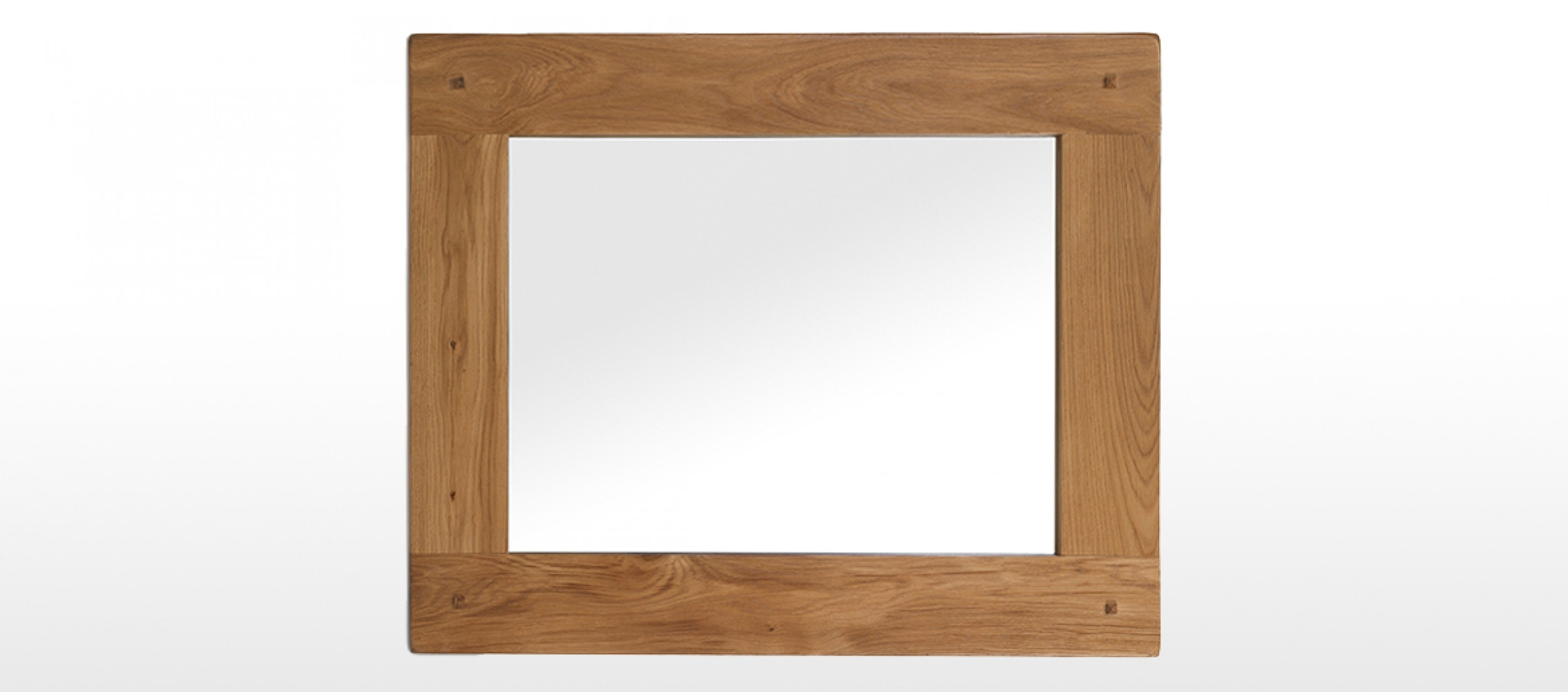 Featured Image of Rustic Oak Mirror