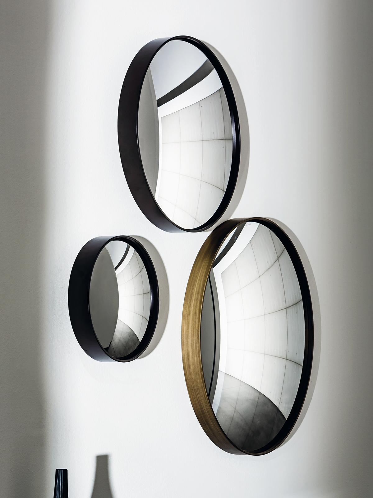 Sail Decorative Convex Mirror Small Unique Wall Mounted Mirror Inside Convex Decorative Mirror (Image 14 of 15)