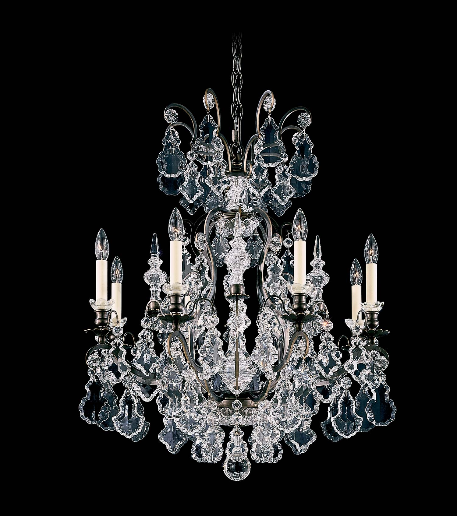 Schonbek 2771 Versailles Collection Chandelier Crystal Traditional Regarding Baroque Chandelier (Image 11 of 15)