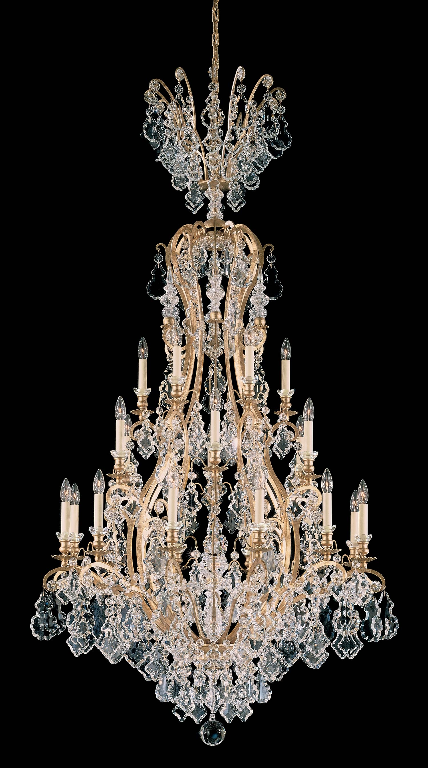 Schonbek 2774 Versailles Collection Chandelier Crystal Traditional Throughout Baroque Chandelier (Image 12 of 15)