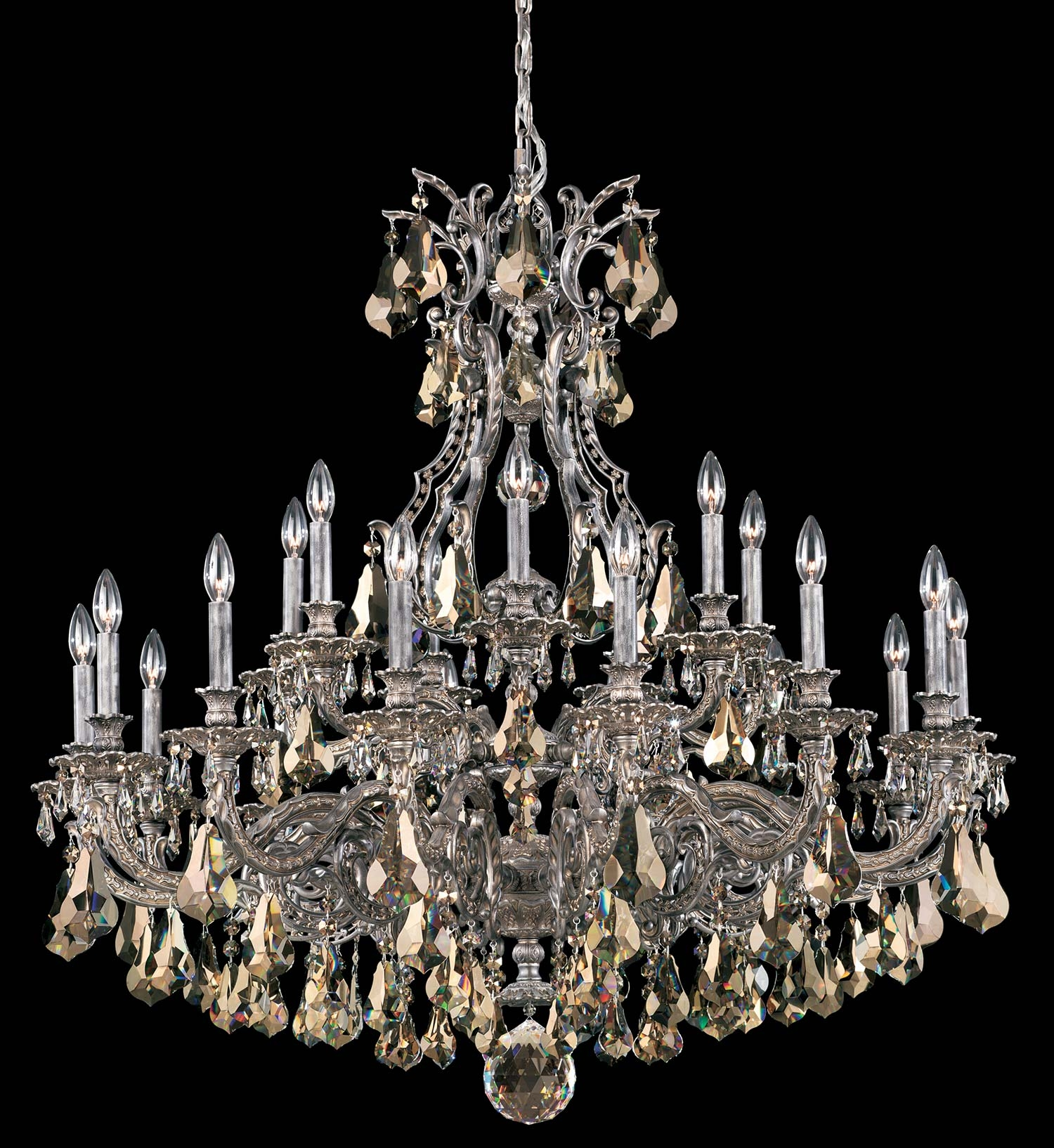 Schonbek 6961 Sophia Collection Chandelier Crystal Traditional Crystal Pertaining To Traditional Crystal Chandeliers (Image 9 of 15)