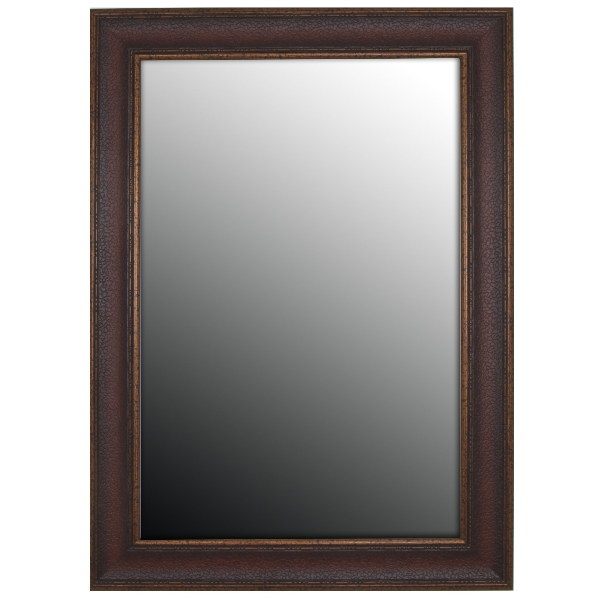 Second Look Mirrors Copper Embossed Bronze Wall Mirror Reviews For Bronze Wall Mirrors (Image 8 of 15)