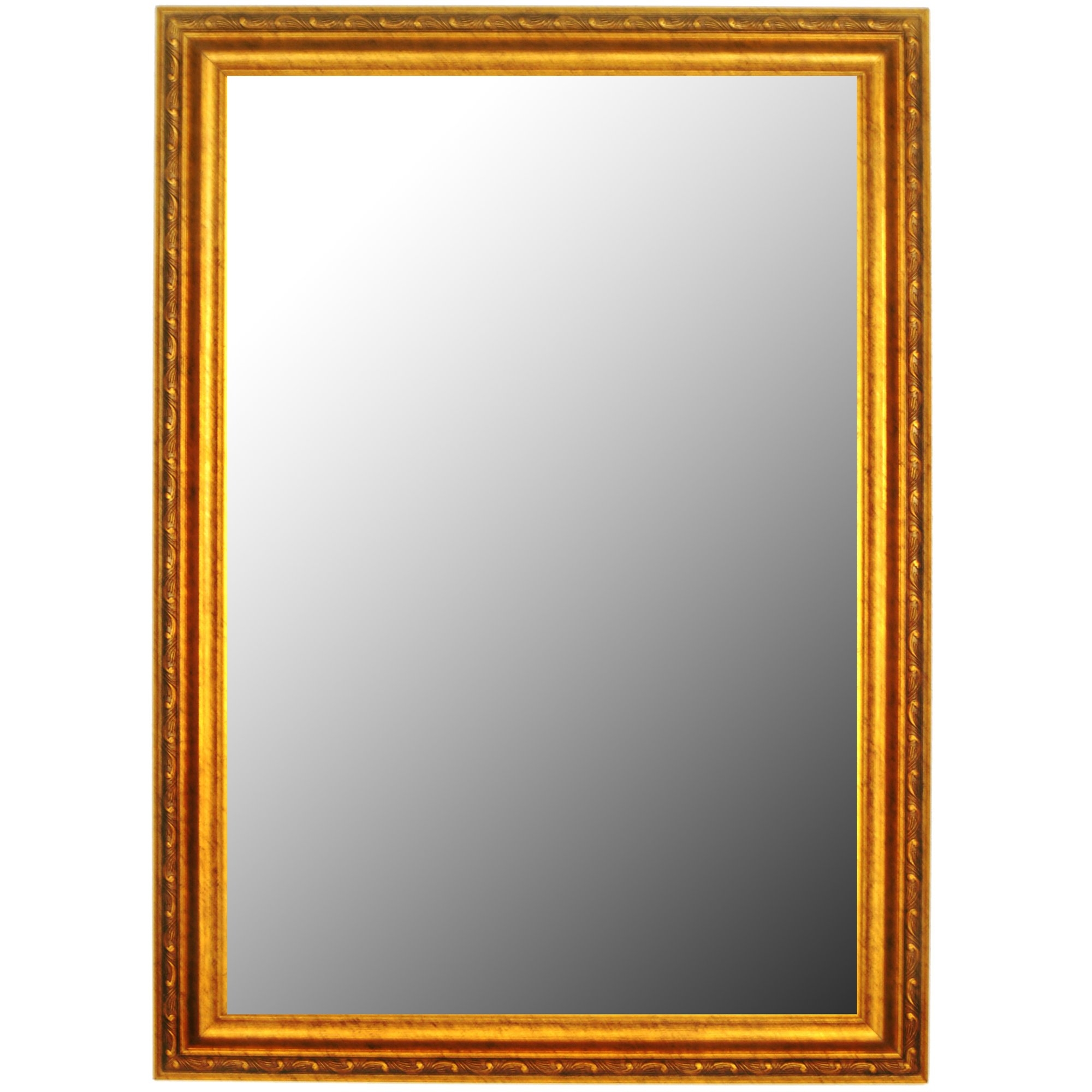 Second Look Mirrors Louis Xii French Gold Wall Mirror Reviews Intended For Gold French Mirror (Image 15 of 15)