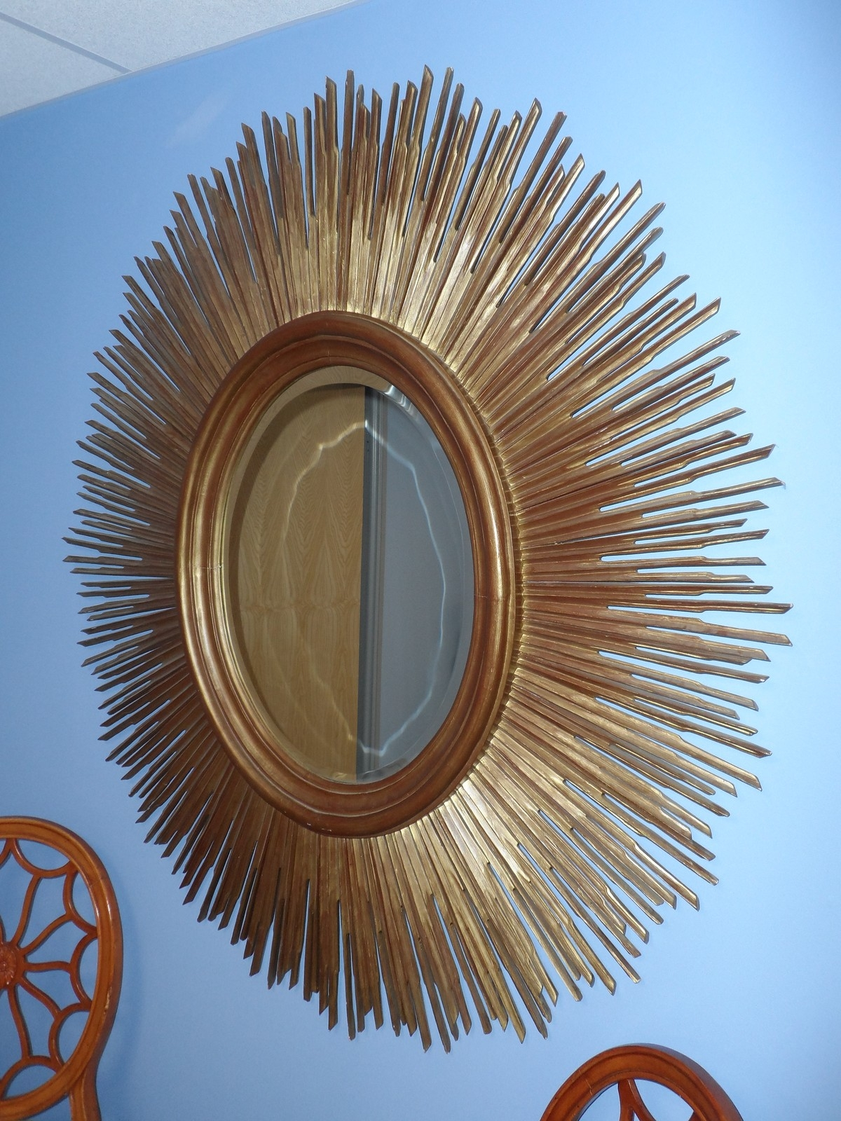 Secondhand Vintage And Reclaimed Antique Mirrors Sunburst With Regard To Sun Mirrors For Sale (Image 9 of 15)