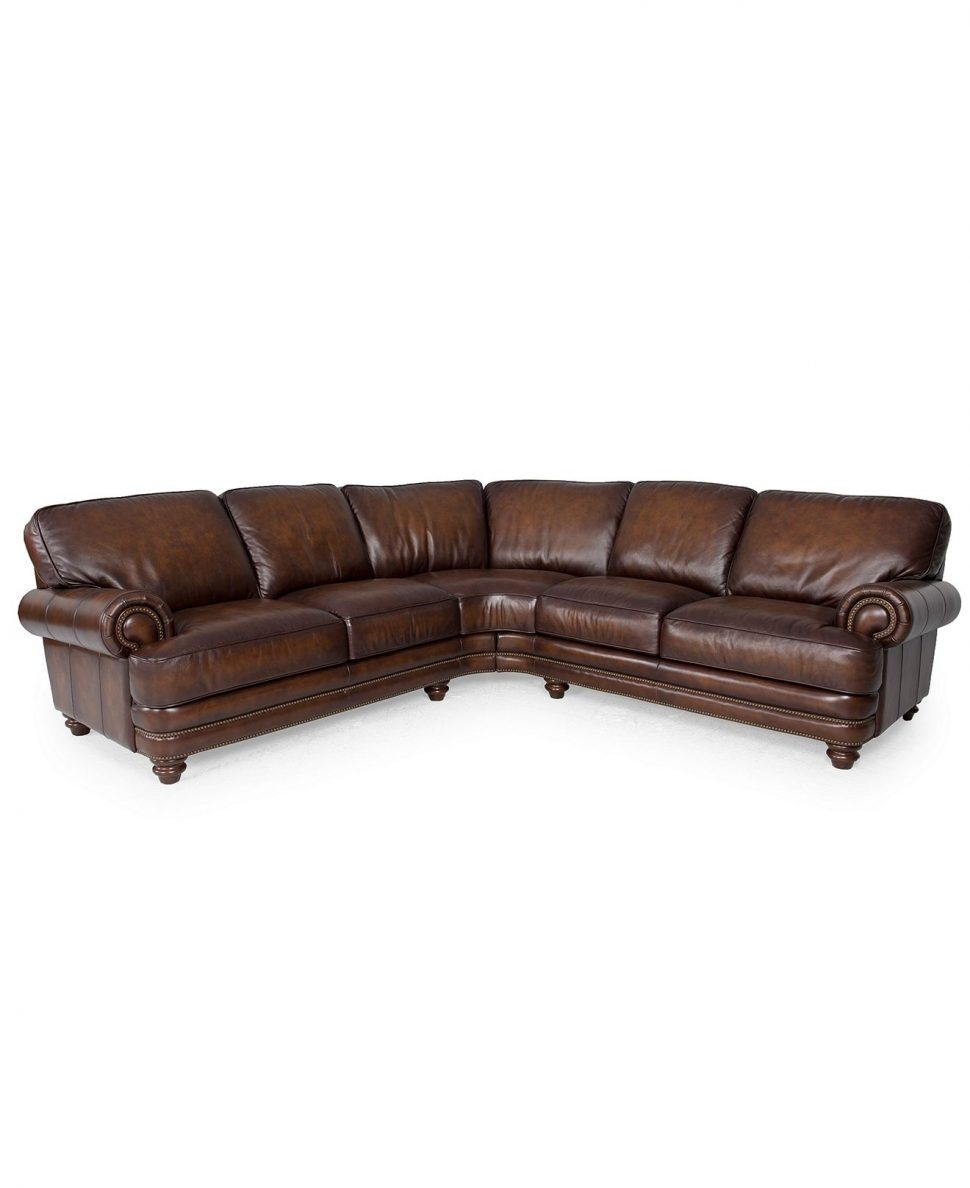 Sectional Sofa Cool Small Sectional Sofa With Recliner 44 With Throughout 6 Piece Leather Sectional Sofa (Image 12 of 15)