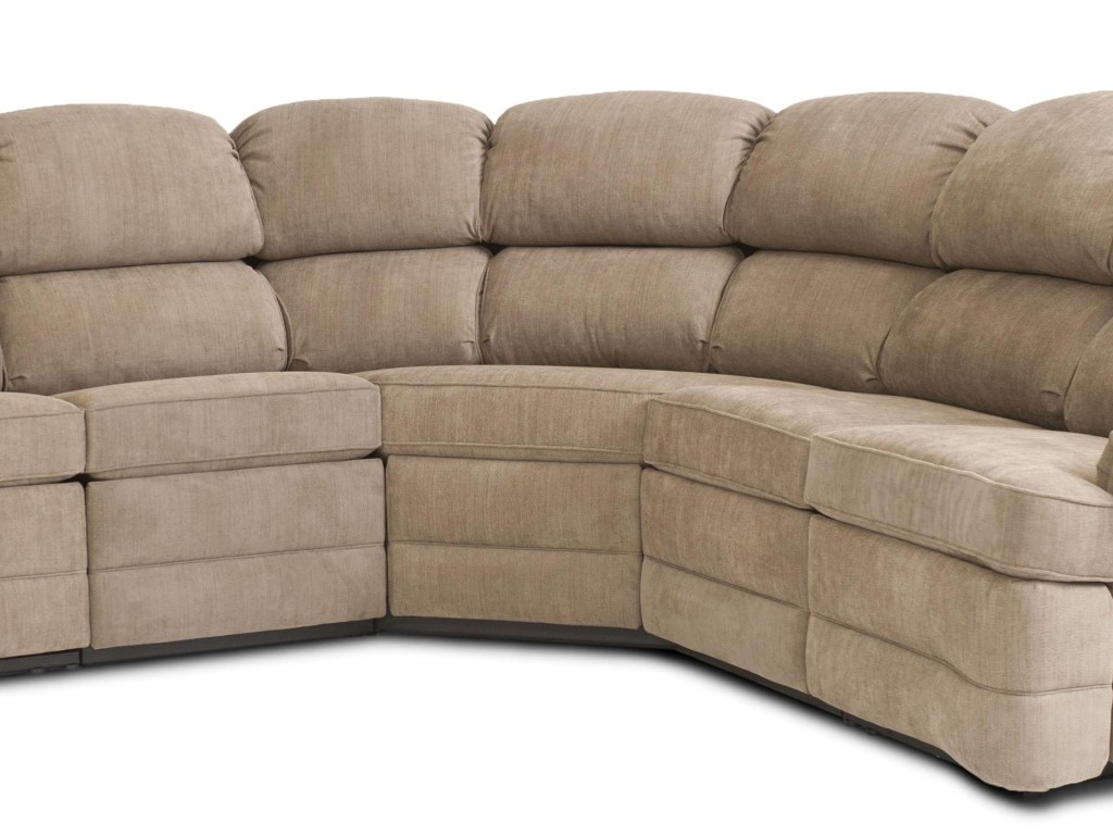 Sectional Sofa Cool Small Sectional Sofa With Recliner 44 With Throughout Small Sectional Sofa (Image 7 of 15)