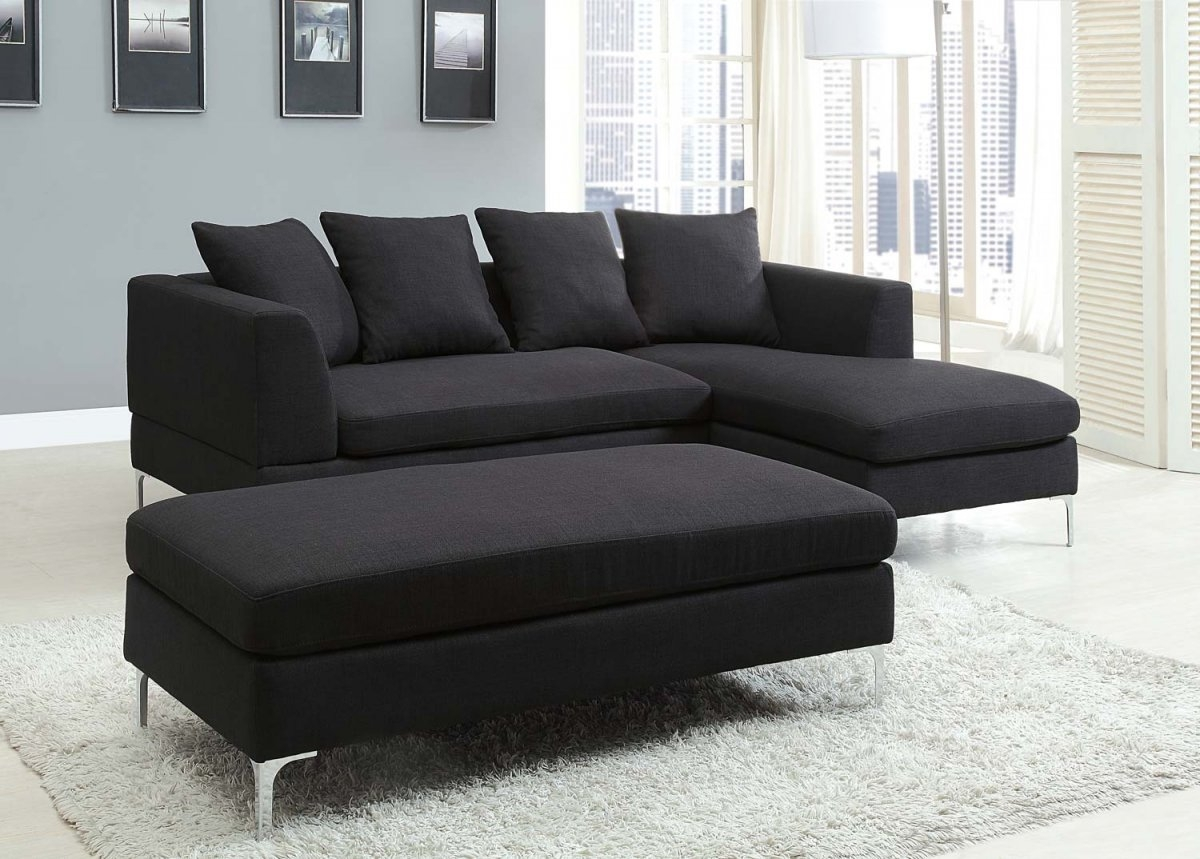 Sectional Sofa Design New Ideas Black Sectional Sofa For Cheap Inside Black Sectional Sofa For Cheap (Image 13 of 15)