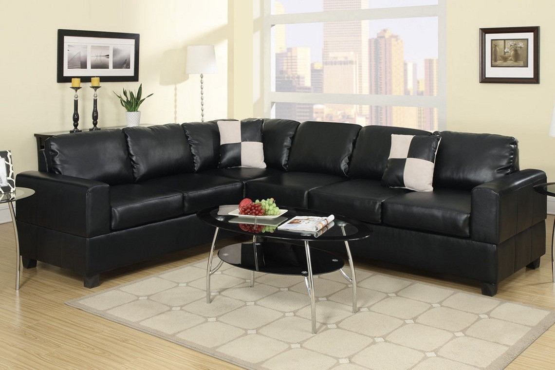 Sectional Sofa Design New Ideas Black Sectional Sofa For Cheap Pertaining To Black Sectional Sofa For Cheap (Image 14 of 15)