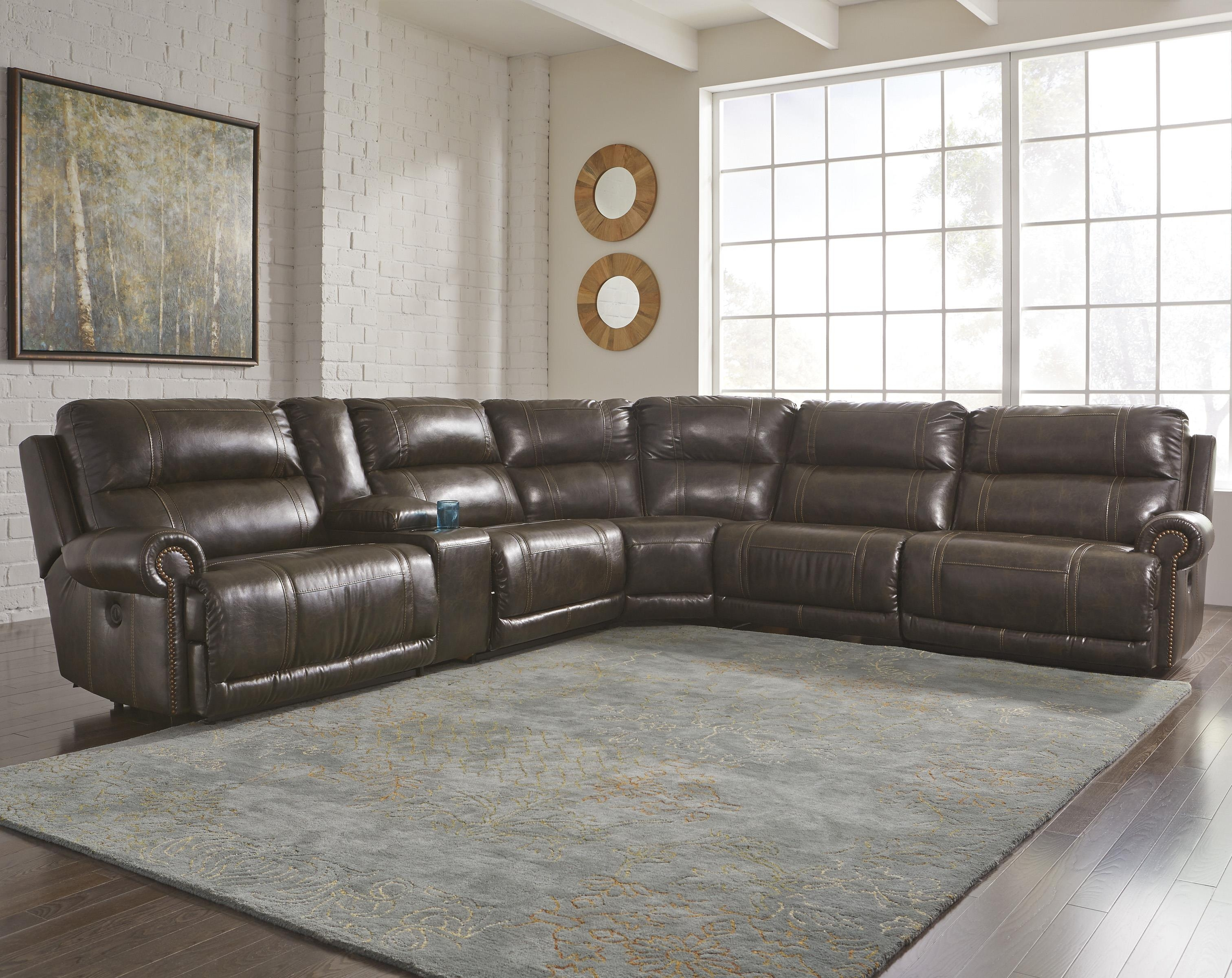 sectionals recliner your add to full furniture sectional black grain leather sofa costco luxury home recliners loveseat with