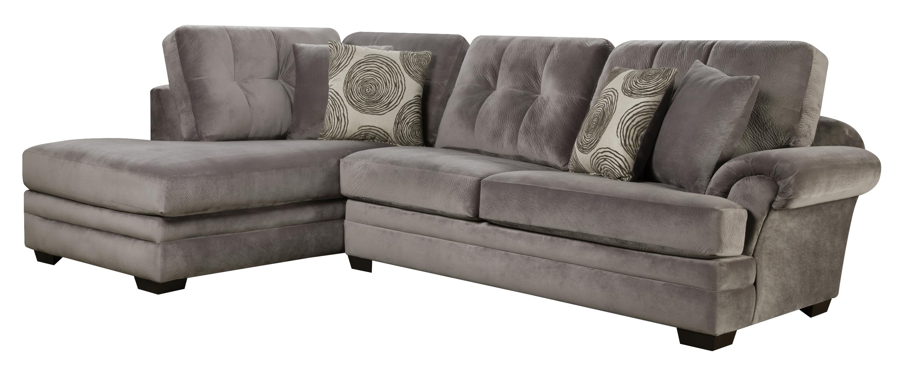 Sectional Sofa With Chaise On Left Side Corinthian Wolf And In Corinthian Sectional Sofas (Image 12 of 15)