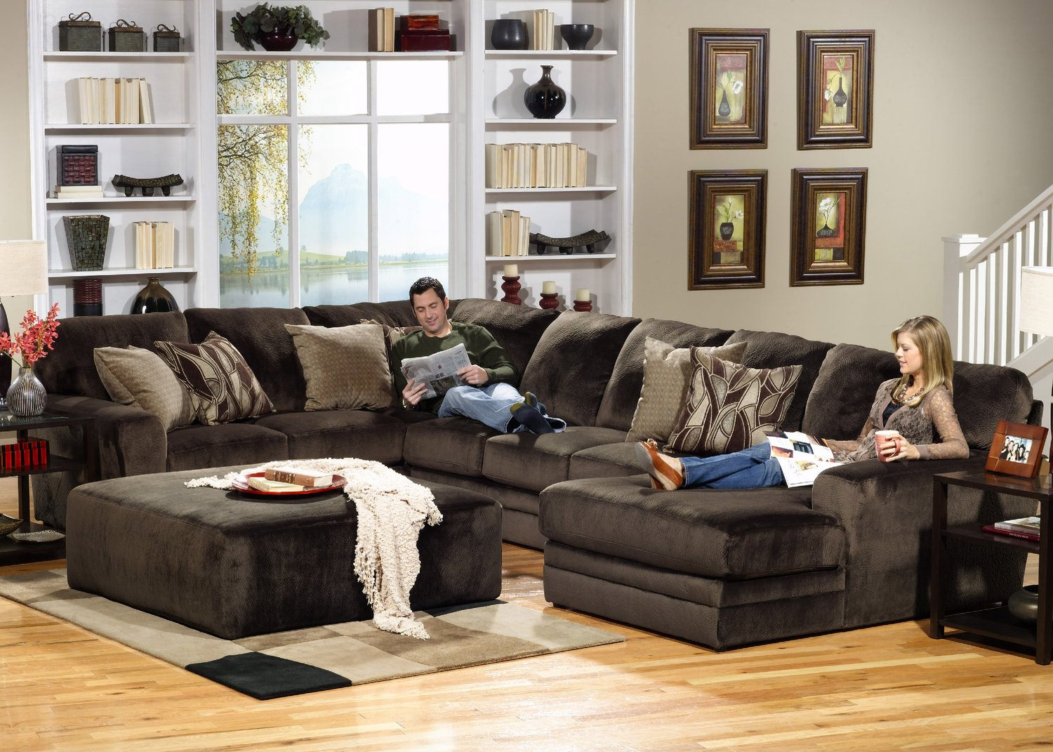 Sectional Sofas Living Room Seating Hom Furniture Pertaining To 10 Piece Sectional Sofa (View 11 of 15)