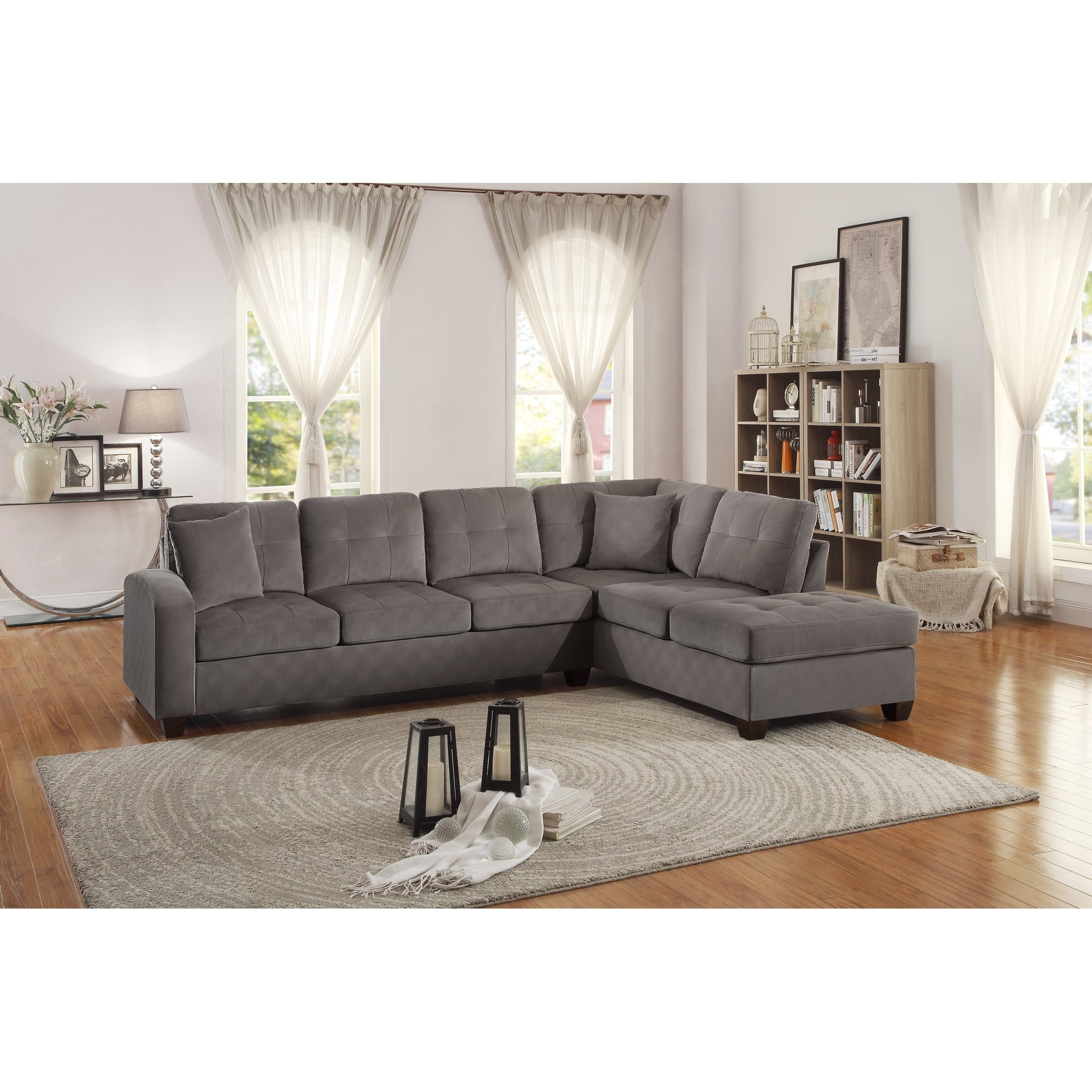 Sectional Sofas Youll Love Wayfair Regarding Cozy Sectional Sofas (Image 14 of 15)