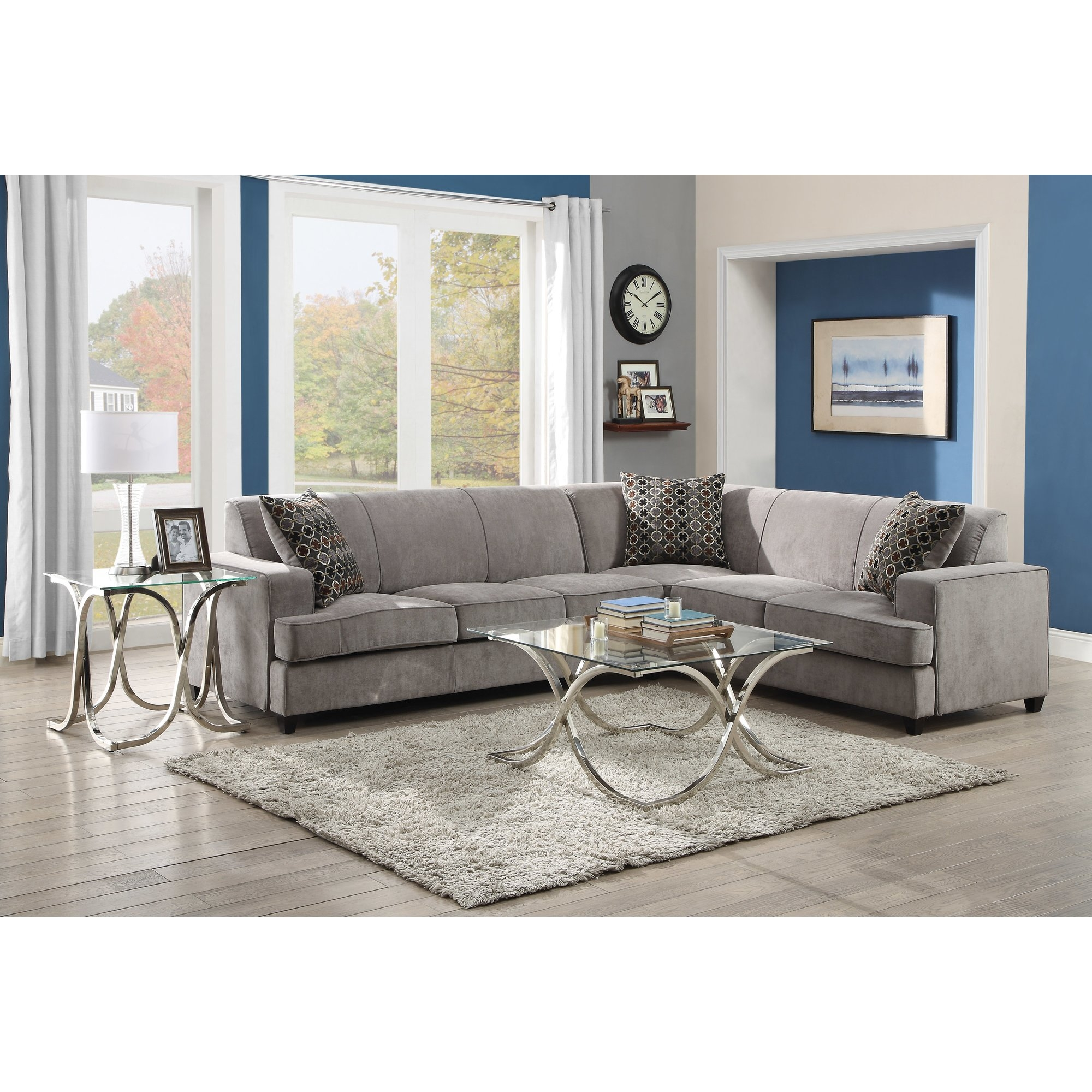 Sectional Sofas Youll Love Wayfair With Compact Sectional Sofas (Image 13 of 15)