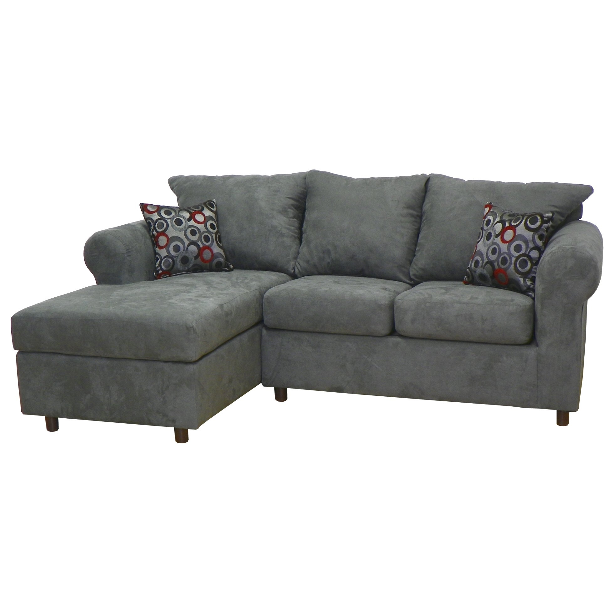 Sectional Sofas Youll Love Wayfair With Curved Sectional Sofa With Recliner (Image 11 of 15)