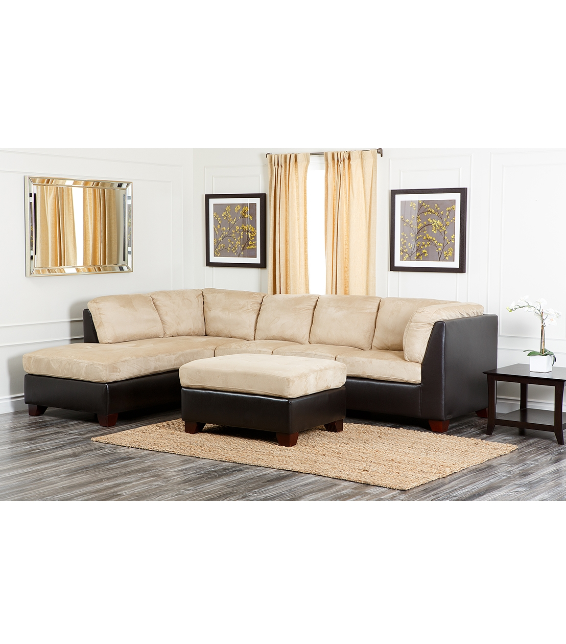 Sectionals Intended For Abbyson Sectional Sofa (View 14 of 15)